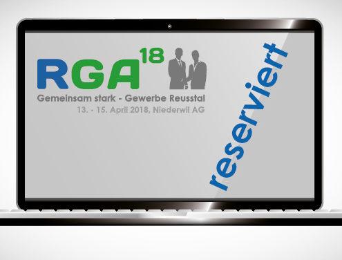 RGA18 Co-Sponsor reserviert